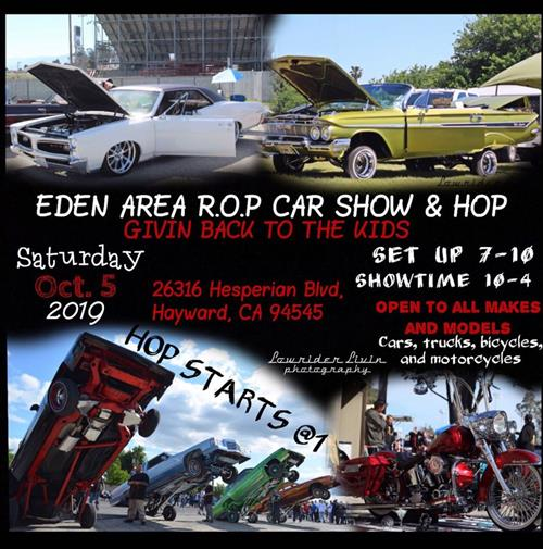 Eden Area ROP Car Show & Hop